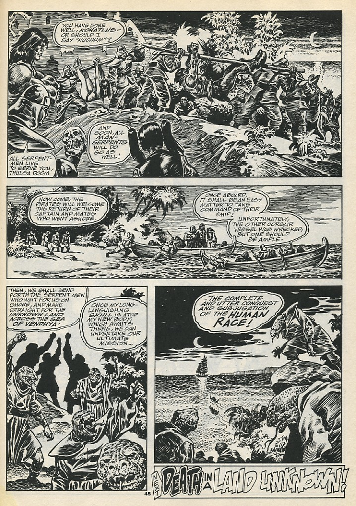 The Savage Sword Of Conan Issue #192 #193 - English 47