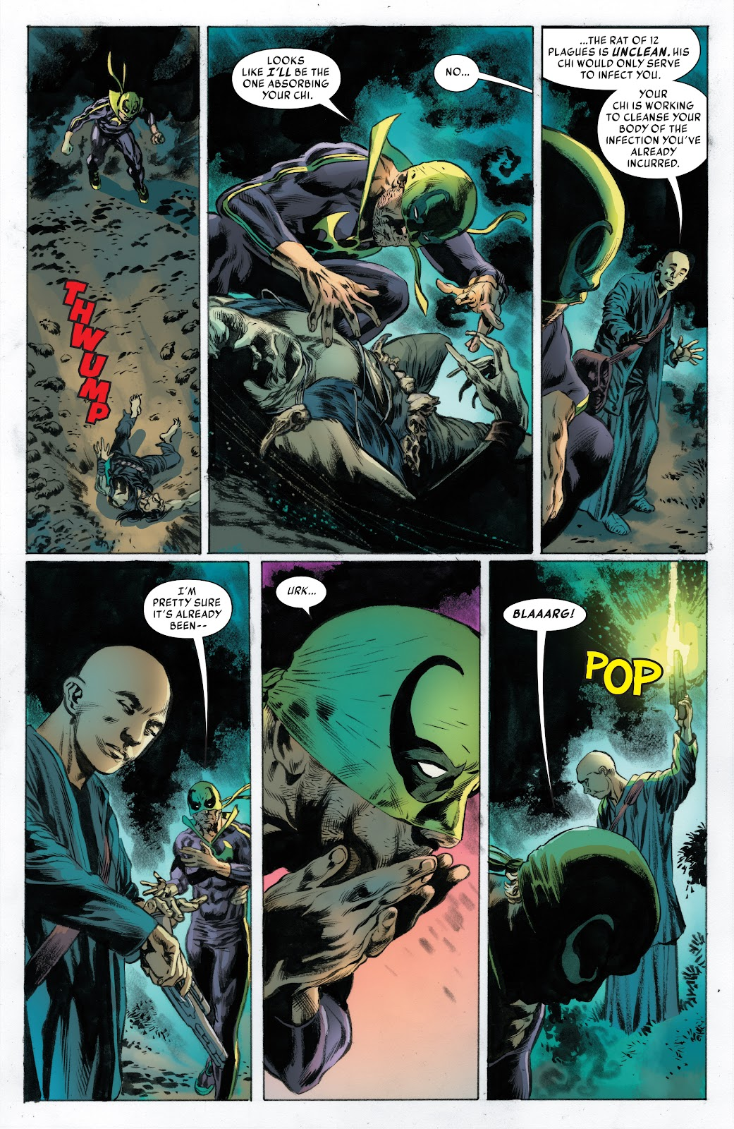 Iron Fist (2017) Issue #3 #3 - English 6