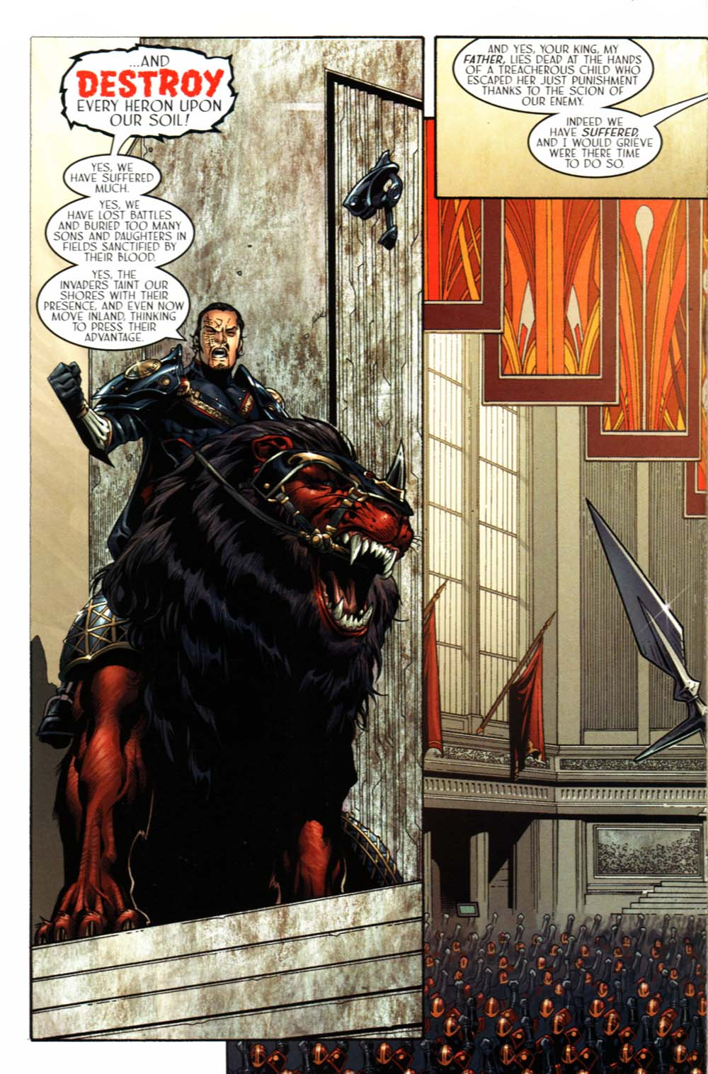 Read online Scion comic -  Issue #20 - 4