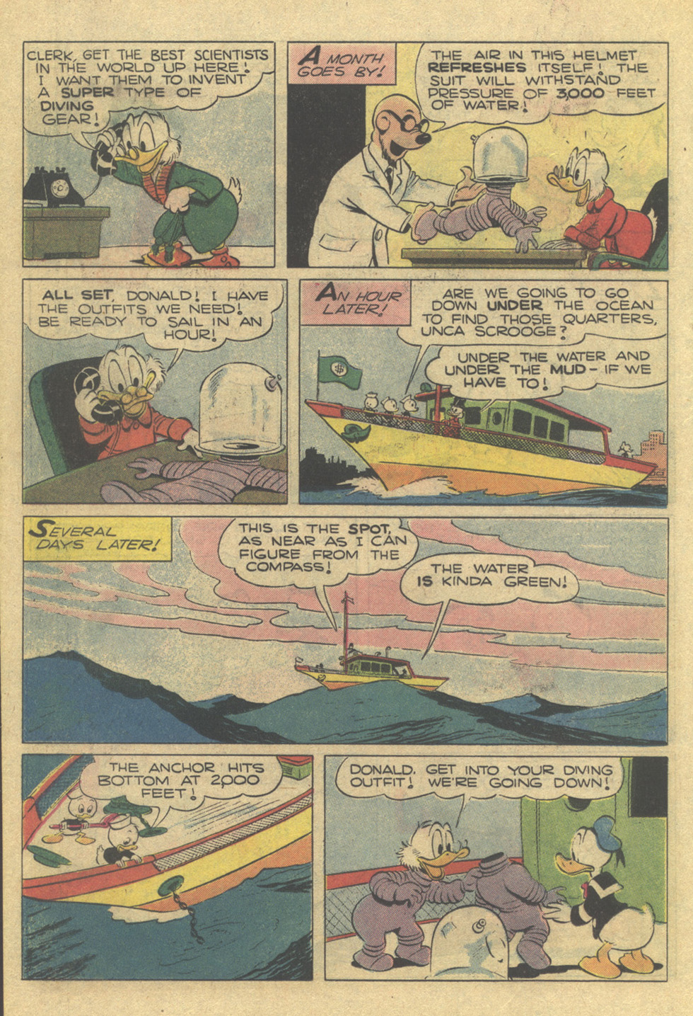 Uncle Scrooge (1953) Issue #189 #189 - English 18