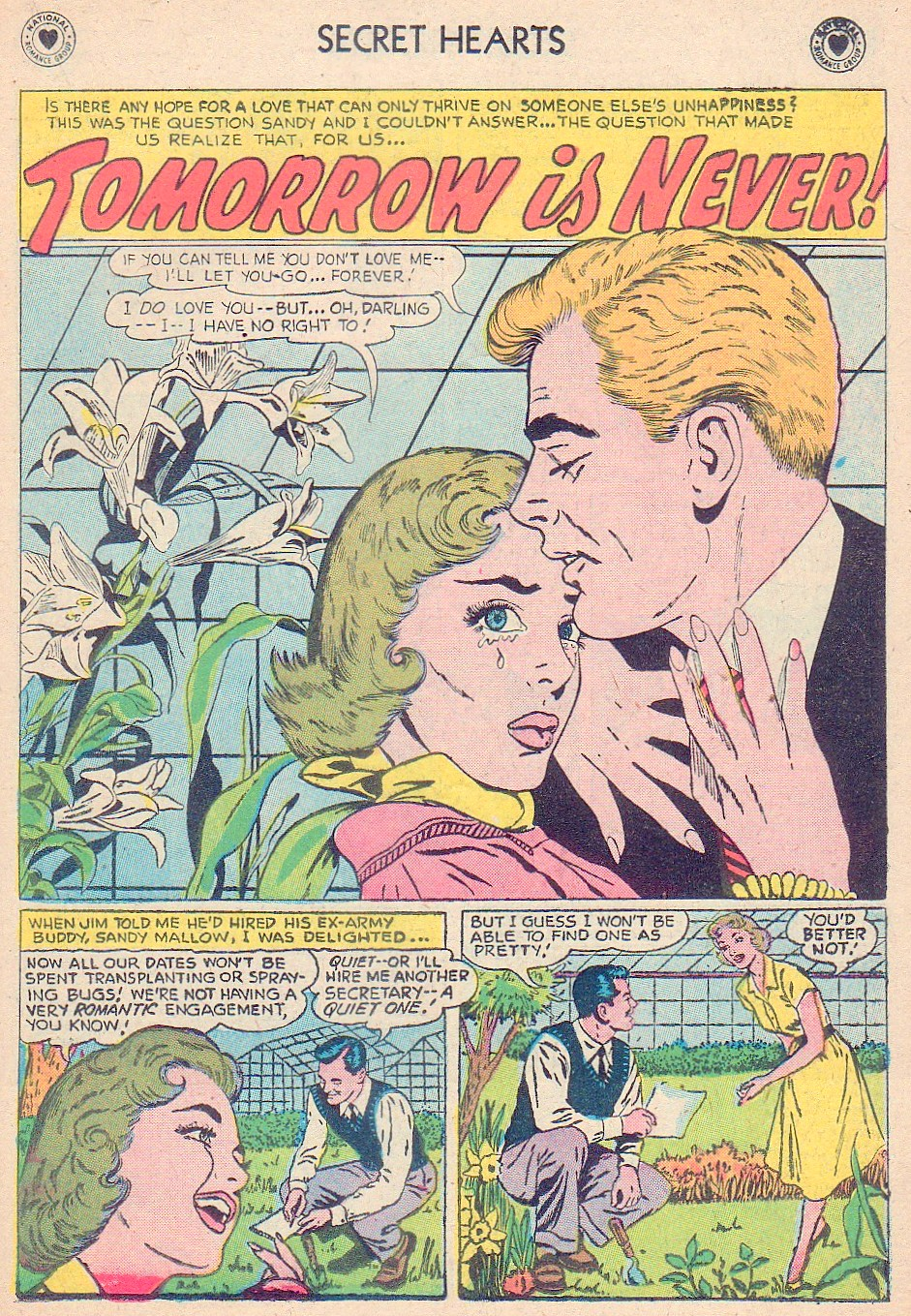 Read online Secret Hearts comic -  Issue #44 - 19