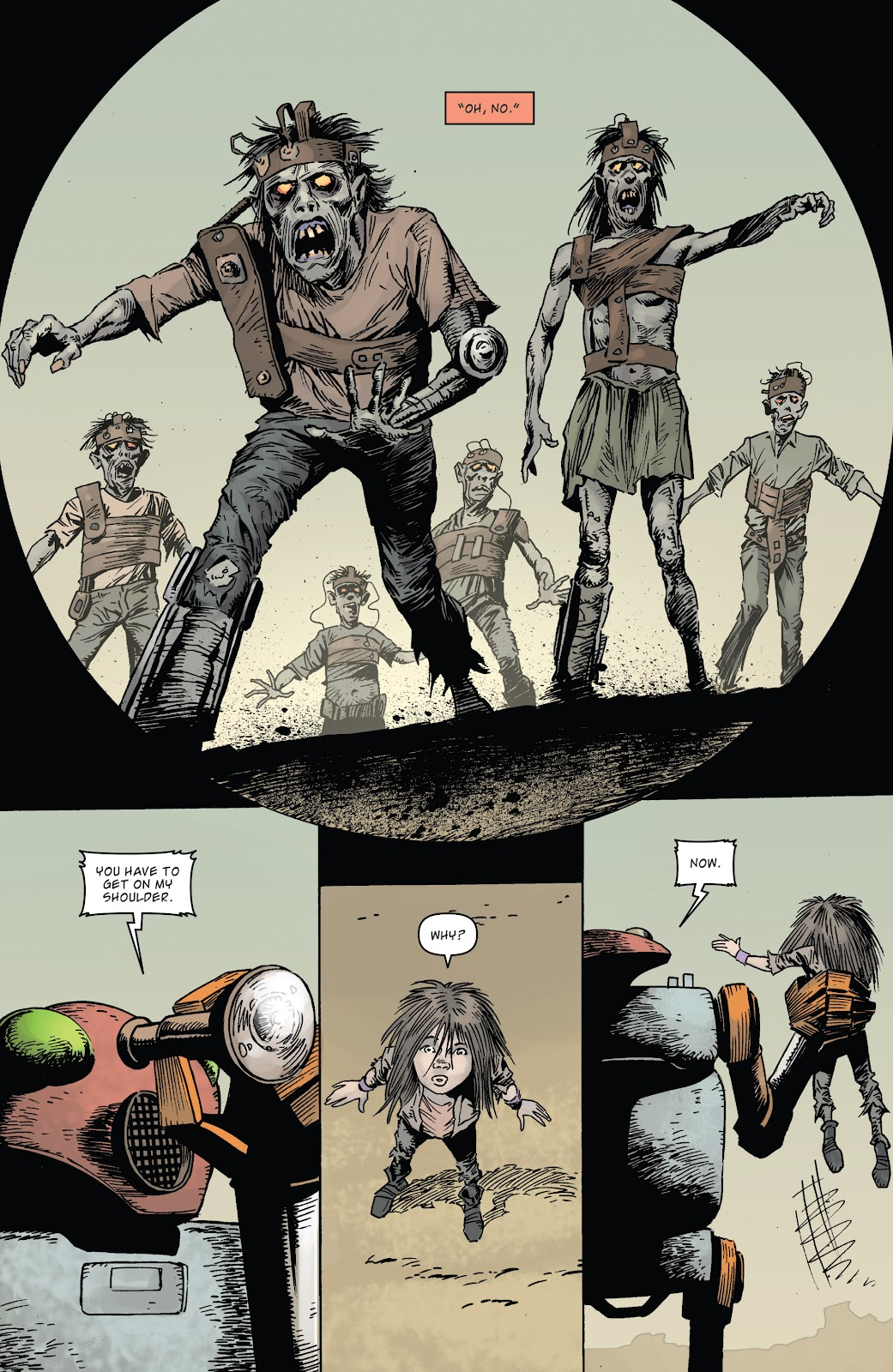 Zombies vs Robots (2015) Issue #5 Page 20