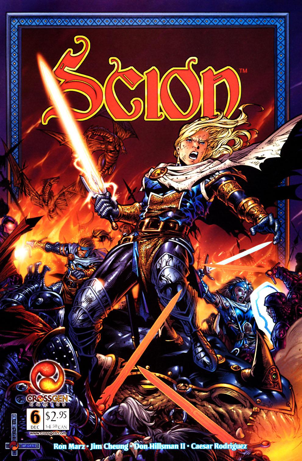 Read online Scion comic -  Issue #6 - 1