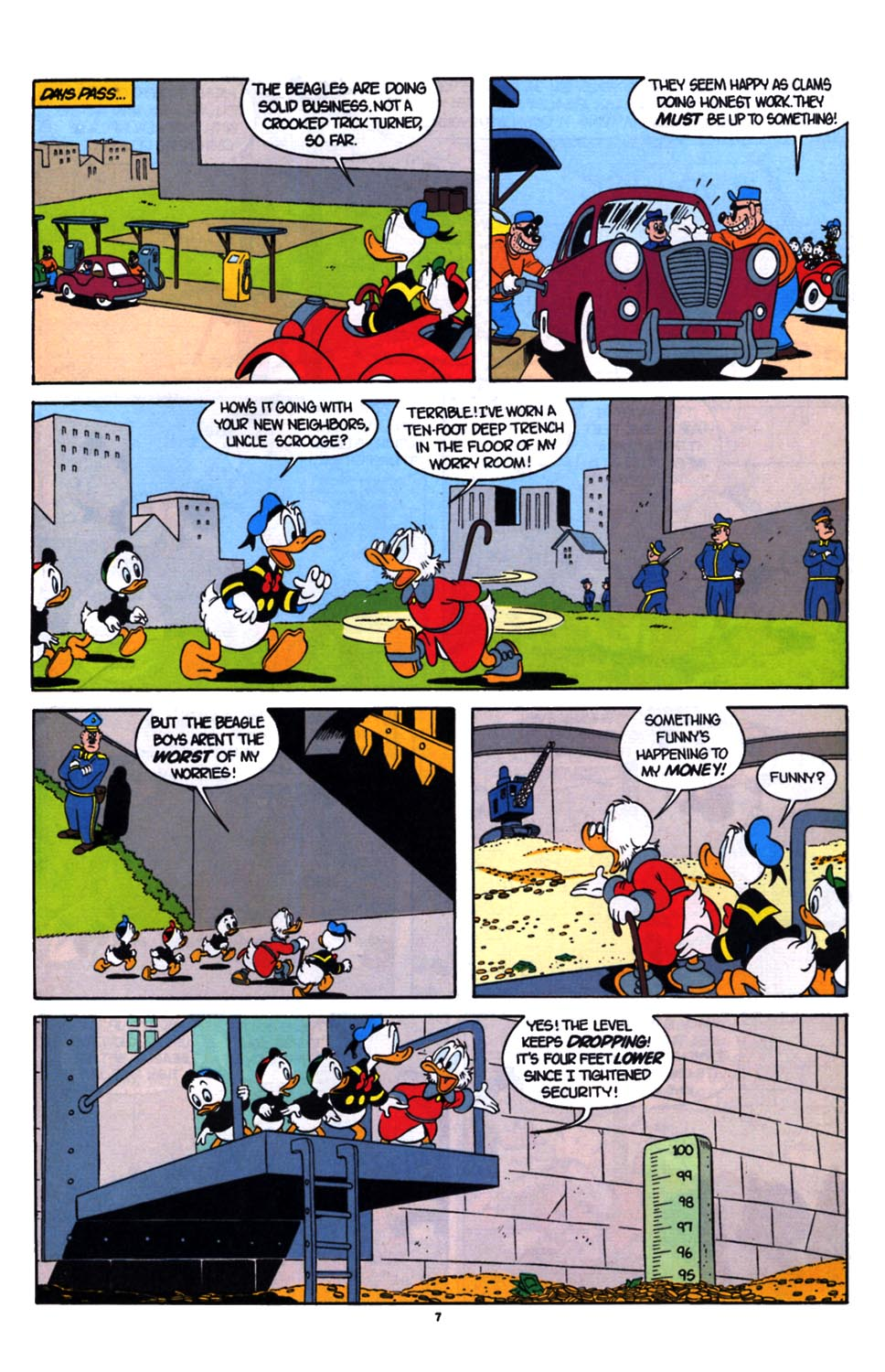 Uncle Scrooge (1953) Issue #254 #254 - English 8