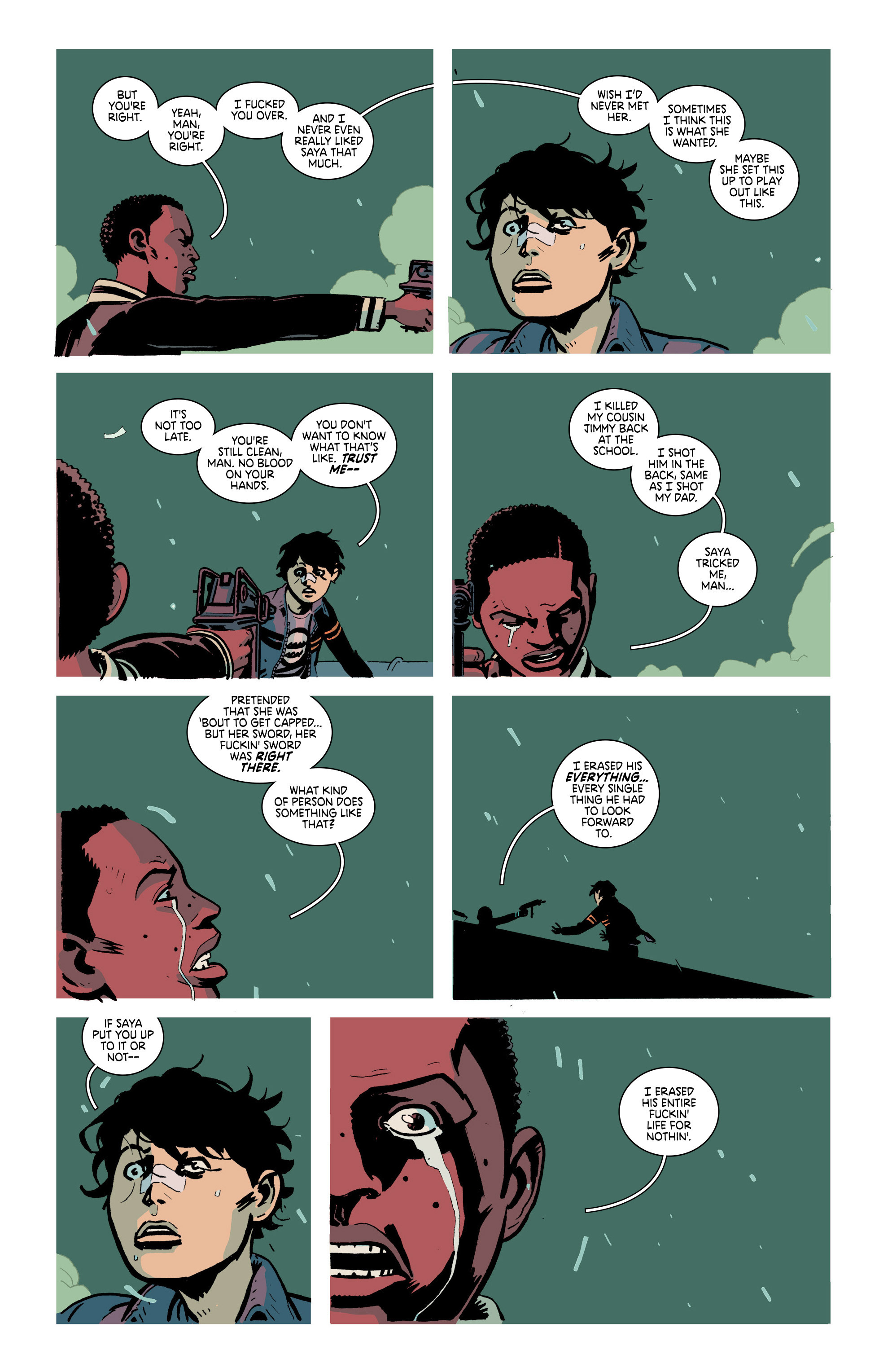 Read online Deadly Class comic -  Issue #21 - 10