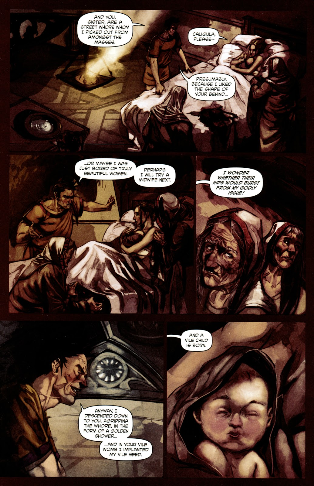 Caligula: Heart of Rome Issue #4 #4 - English 14