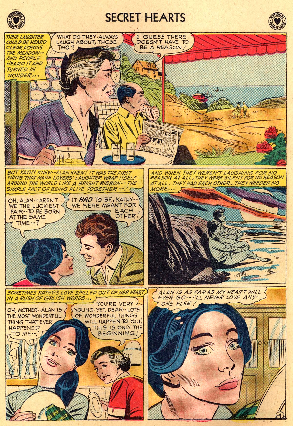 Read online Secret Hearts comic -  Issue #69 - 6