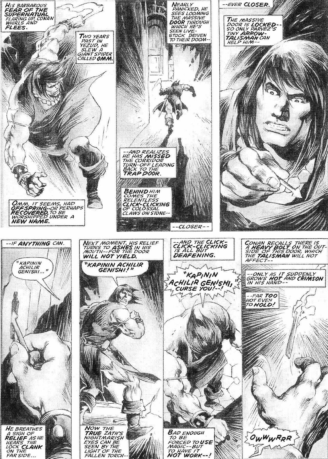 The Savage Sword Of Conan Issue #210 #211 - English 22