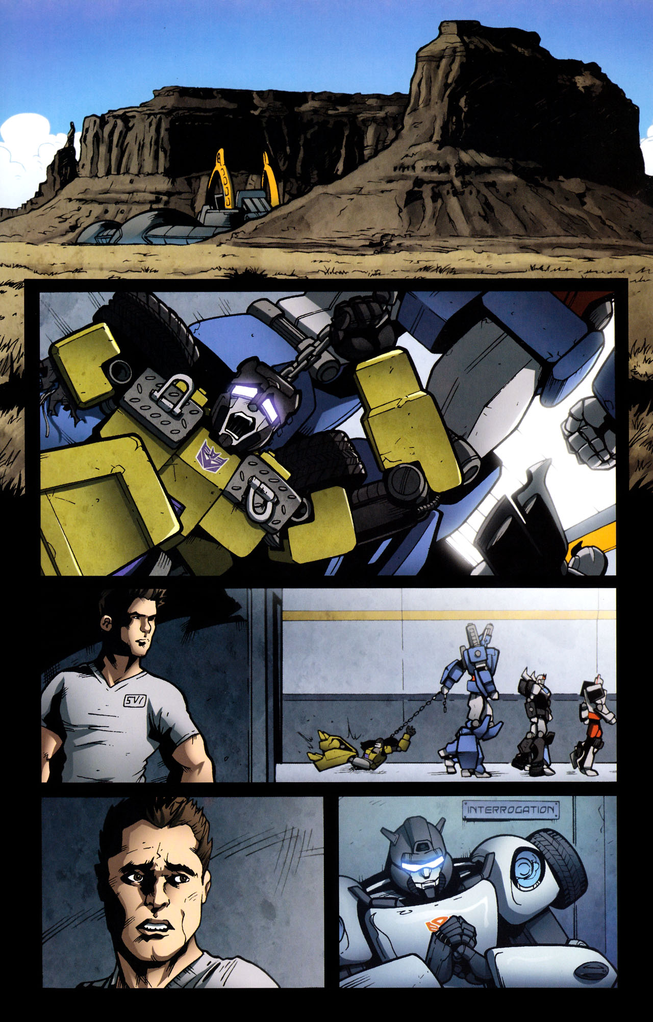 Read online The Transformers (2009) comic -  Issue #29 - 17