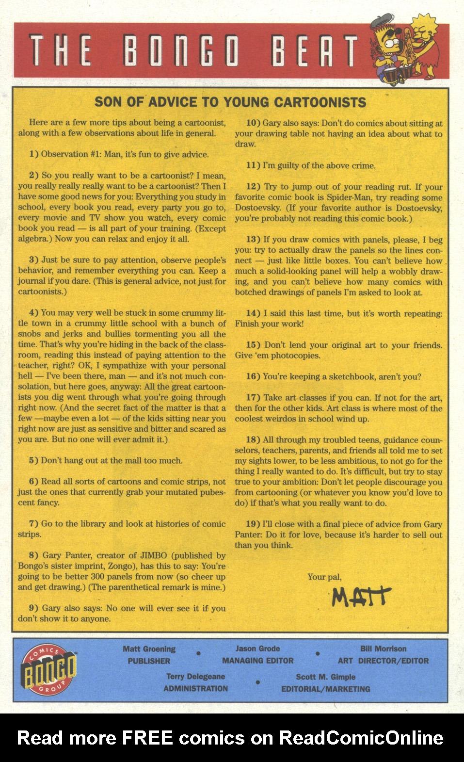 Read online Simpsons Comics comic -  Issue #19 - 21