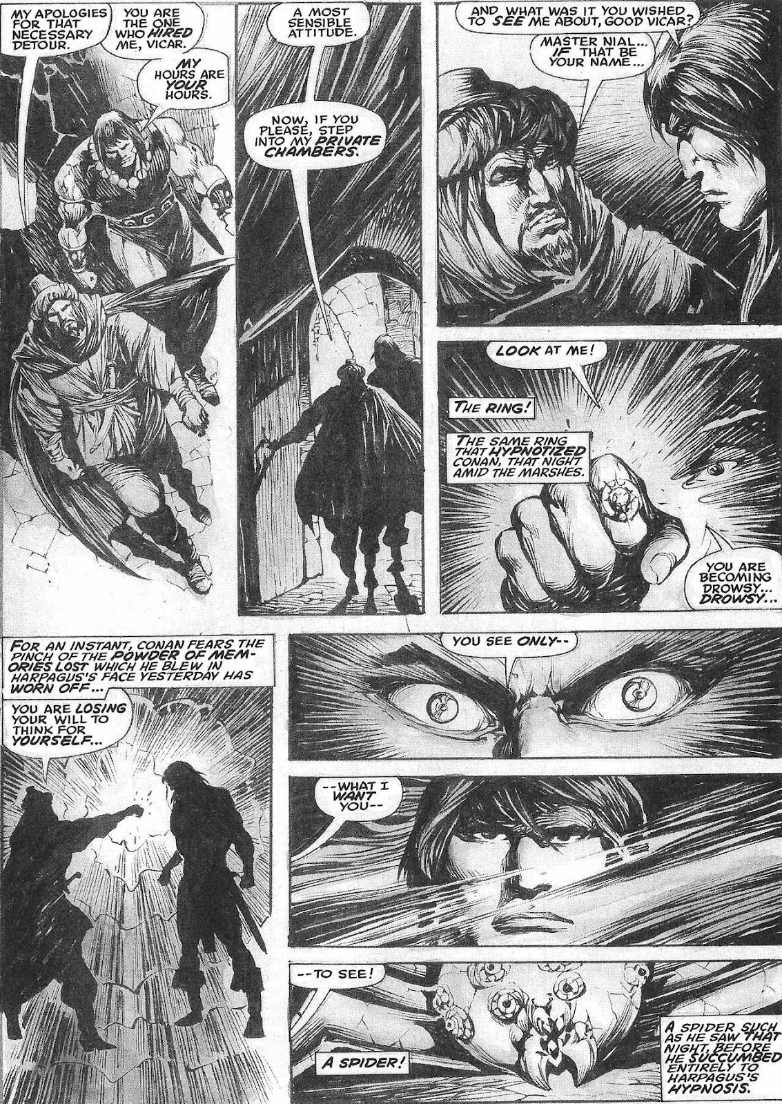 The Savage Sword Of Conan Issue #209 #210 - English 10