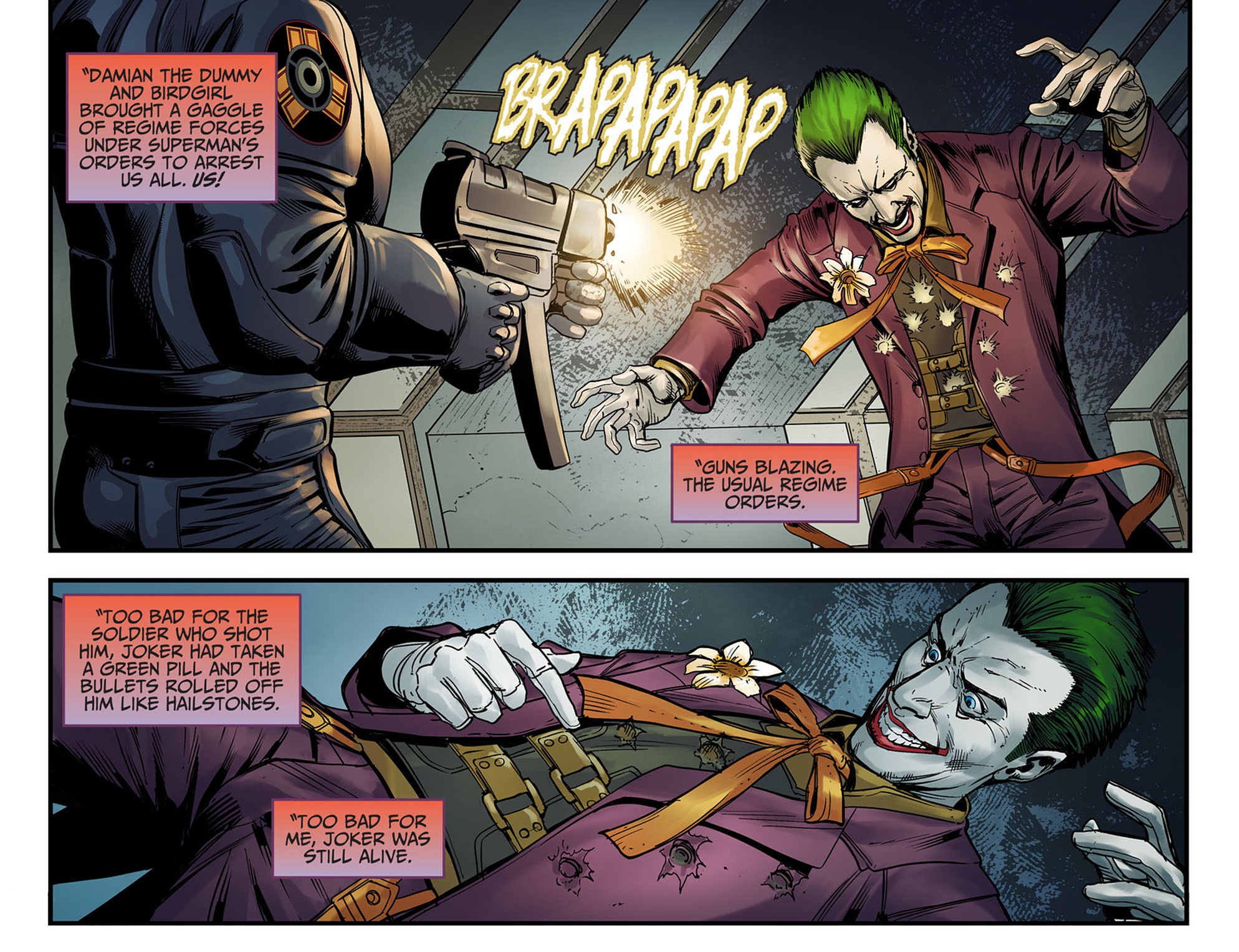 Read online Injustice: Ground Zero comic -  Issue #6 - 4