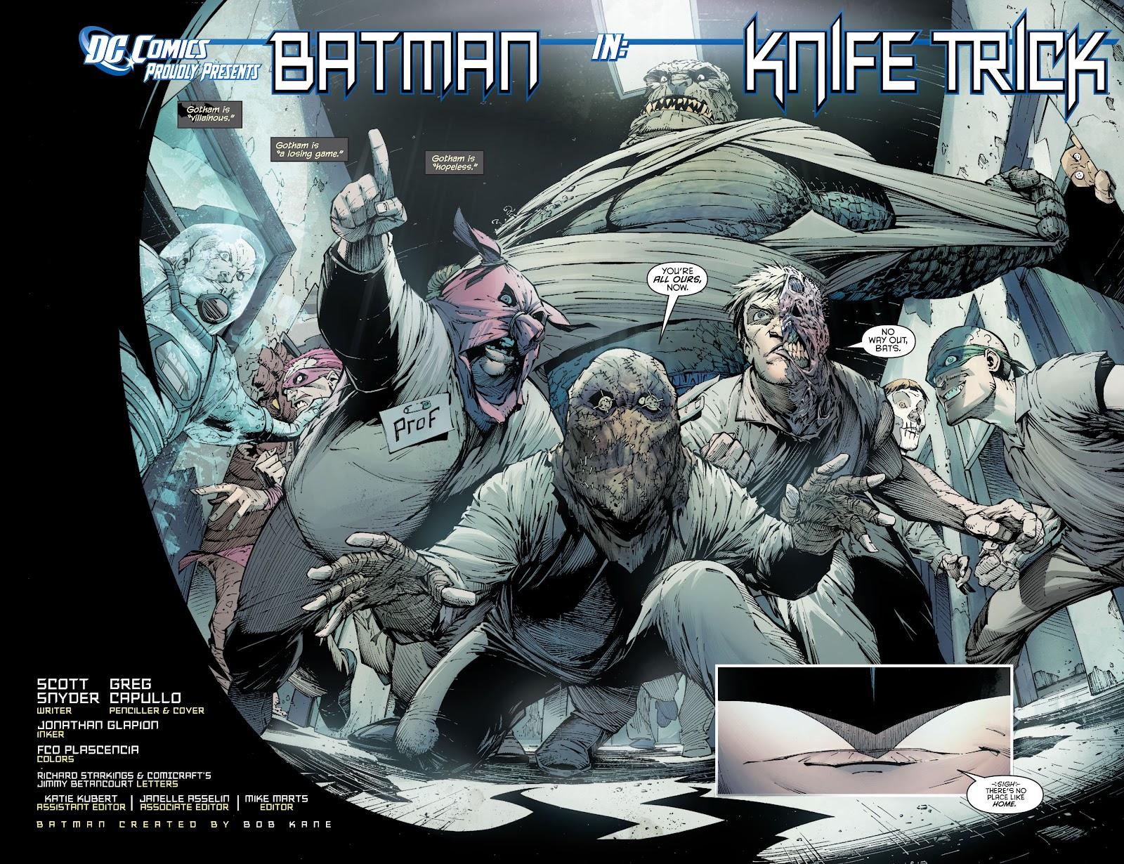 Batman (2011) Issue #1 #16 - English 3