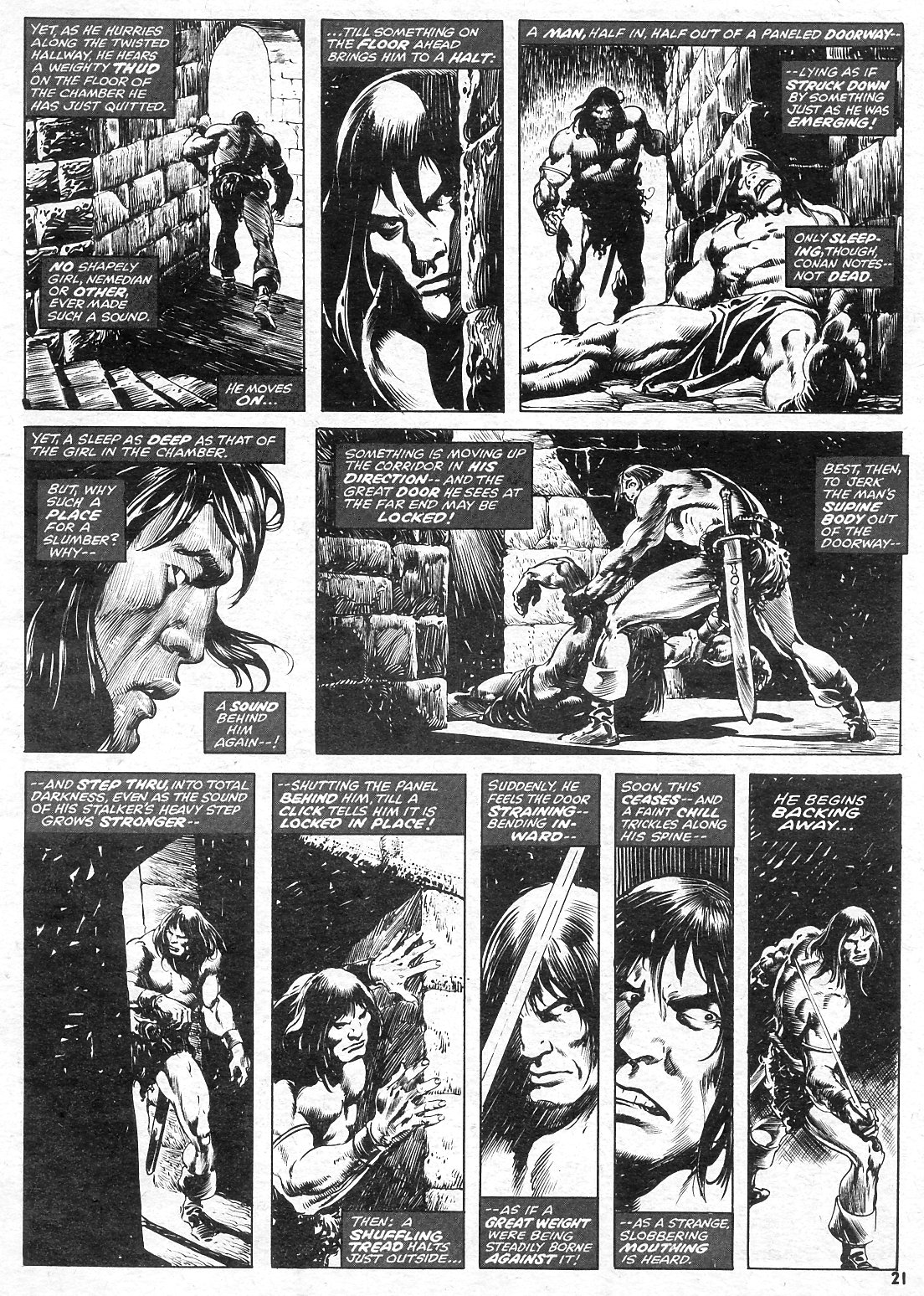 The Savage Sword Of Conan Issue #15 #16 - English 21