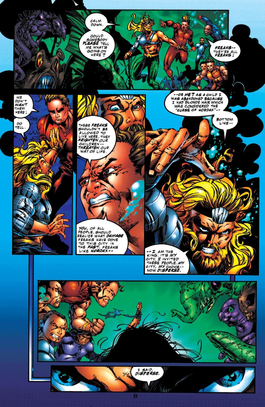 Aquaman (1994) Issue #54 #60 - English 9
