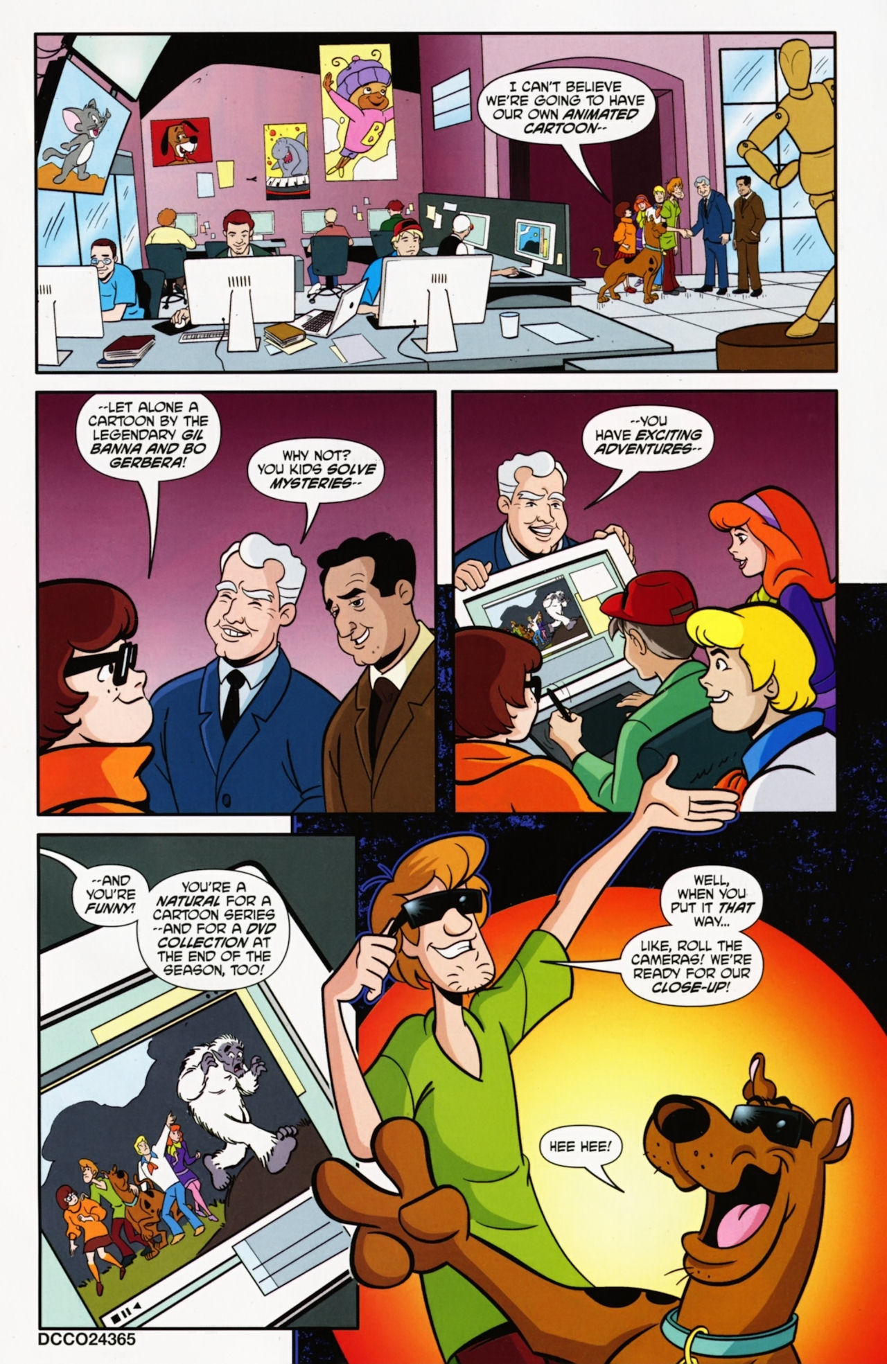 Read online Scooby-Doo: Where Are You? comic -  Issue #9 - 3