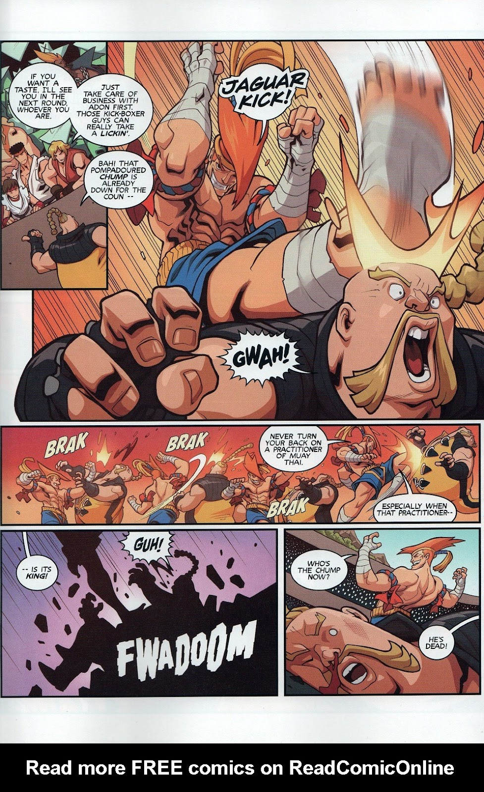 Street Fighter Unlimited Issue #8 #10 - English 11