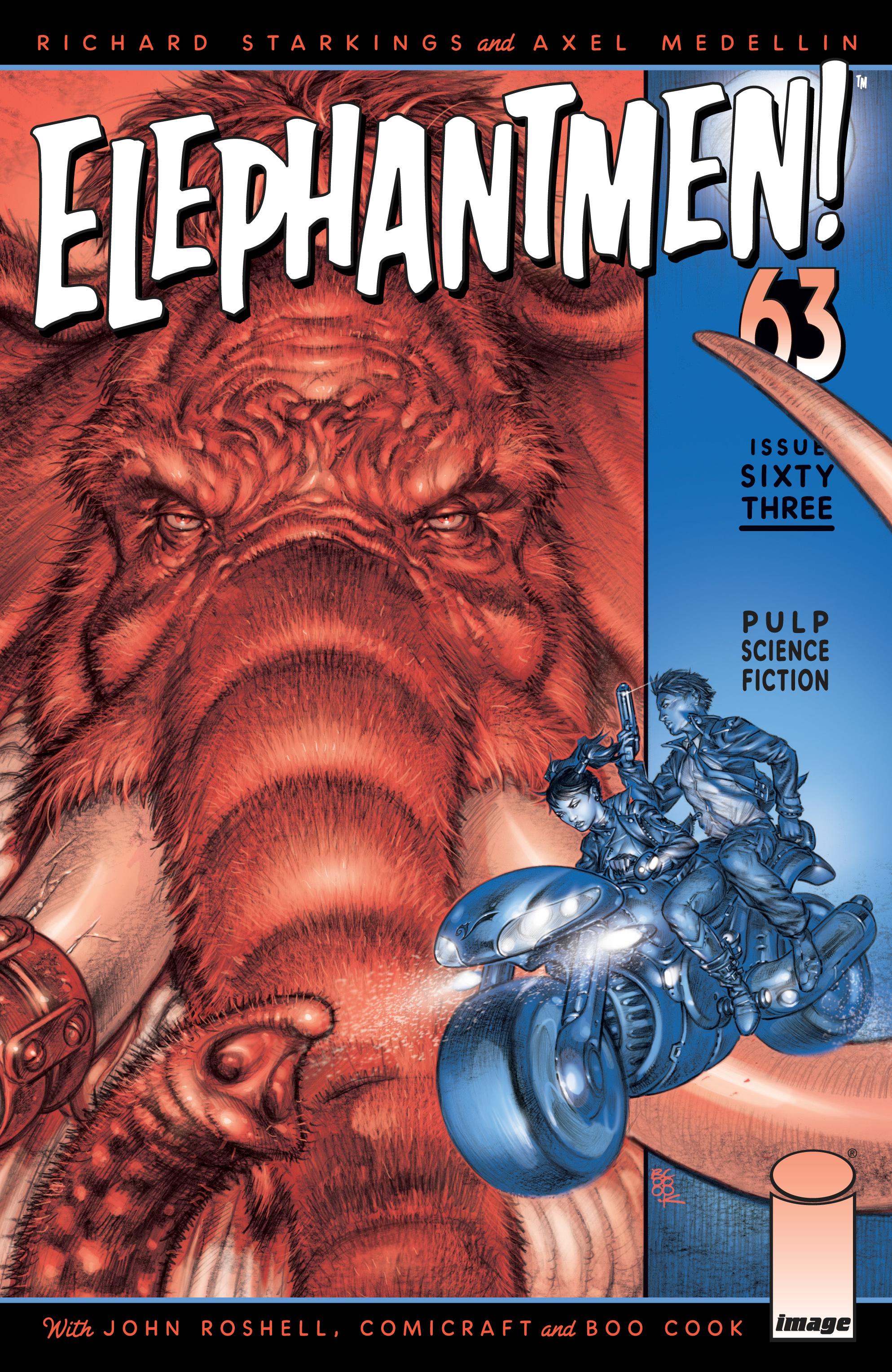 ELEPHANTMEN US IMAGE COMIC VOL.1 # 63///'15