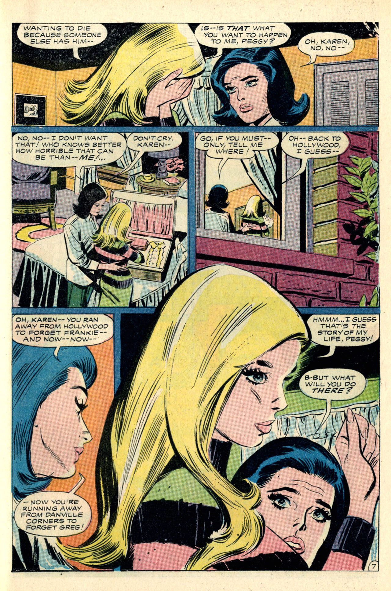 Read online Secret Hearts comic -  Issue #127 - 25