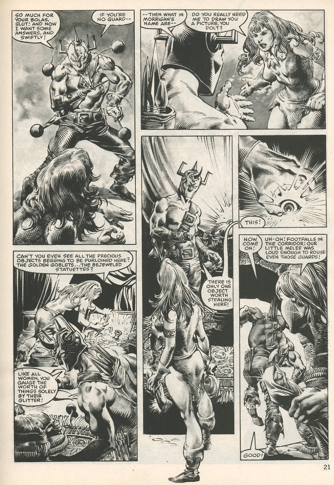 The Savage Sword Of Conan Issue #107 #108 - English 21