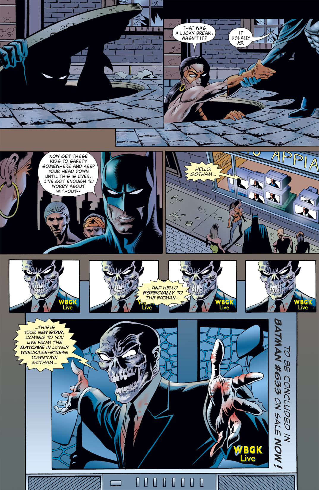 Read online Batman: War Games comic -  Issue #7 - 23
