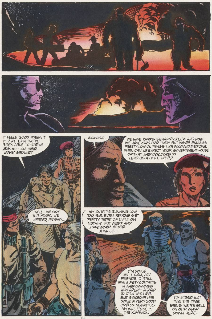 Read online Scout comic -  Issue #22 - 21