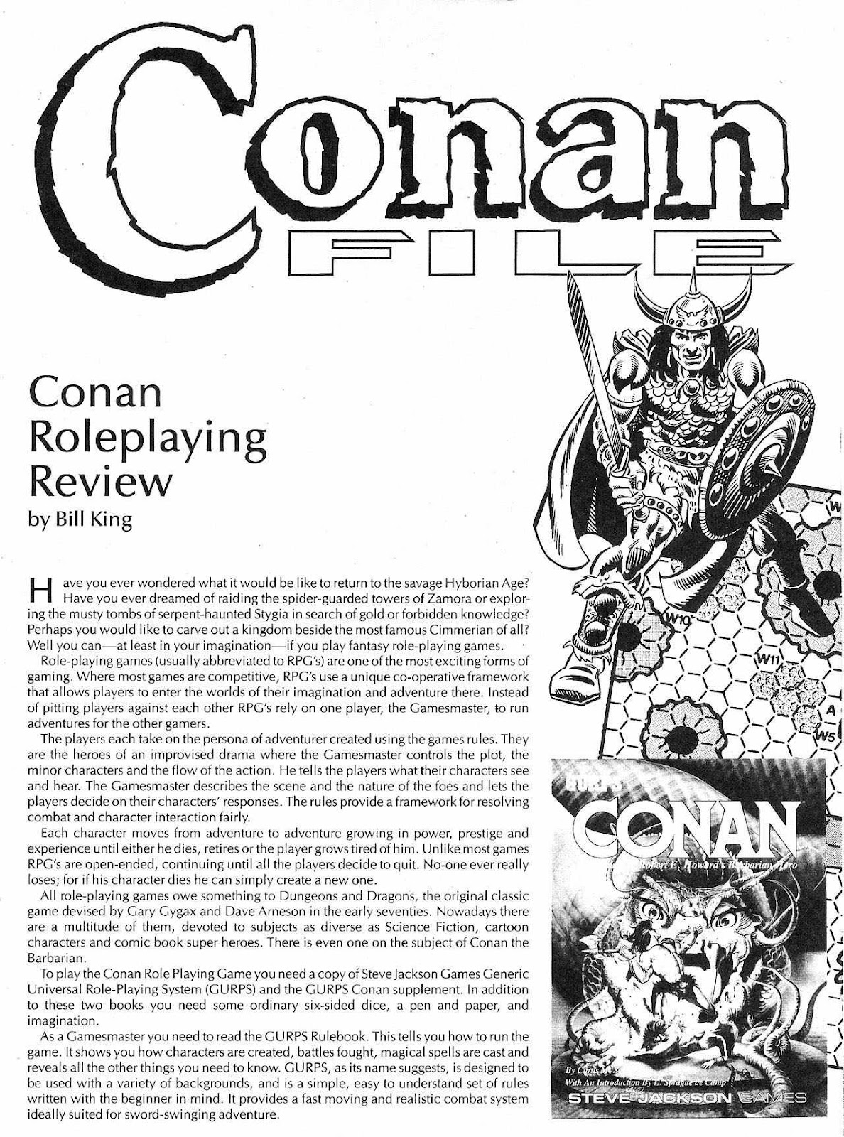 The Savage Sword Of Conan Issue #207 #208 - English 7