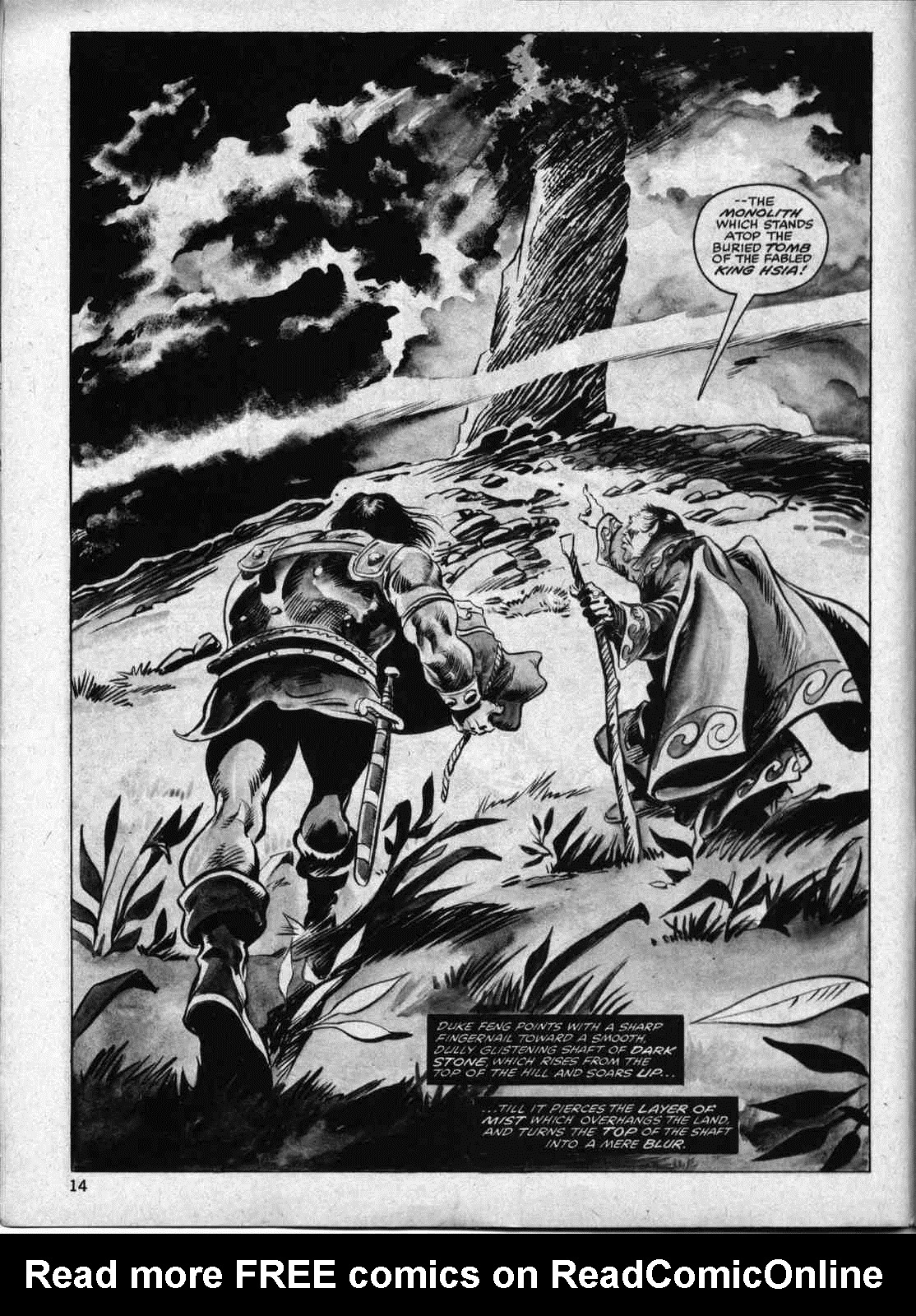 The Savage Sword Of Conan Issue #33 #34 - English 13