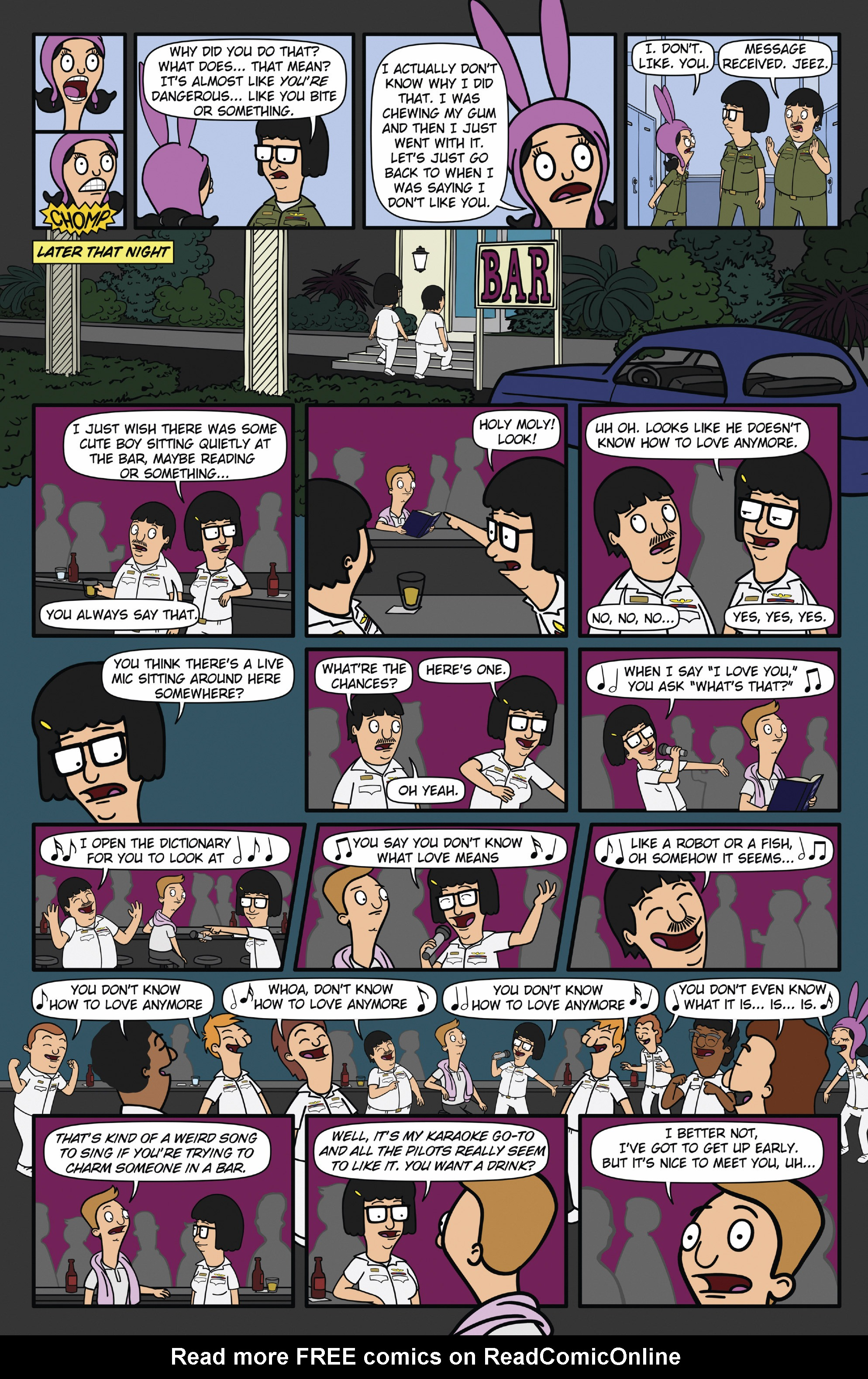 Read online Bob's Burgers (2015) comic -  Issue #12 - 4