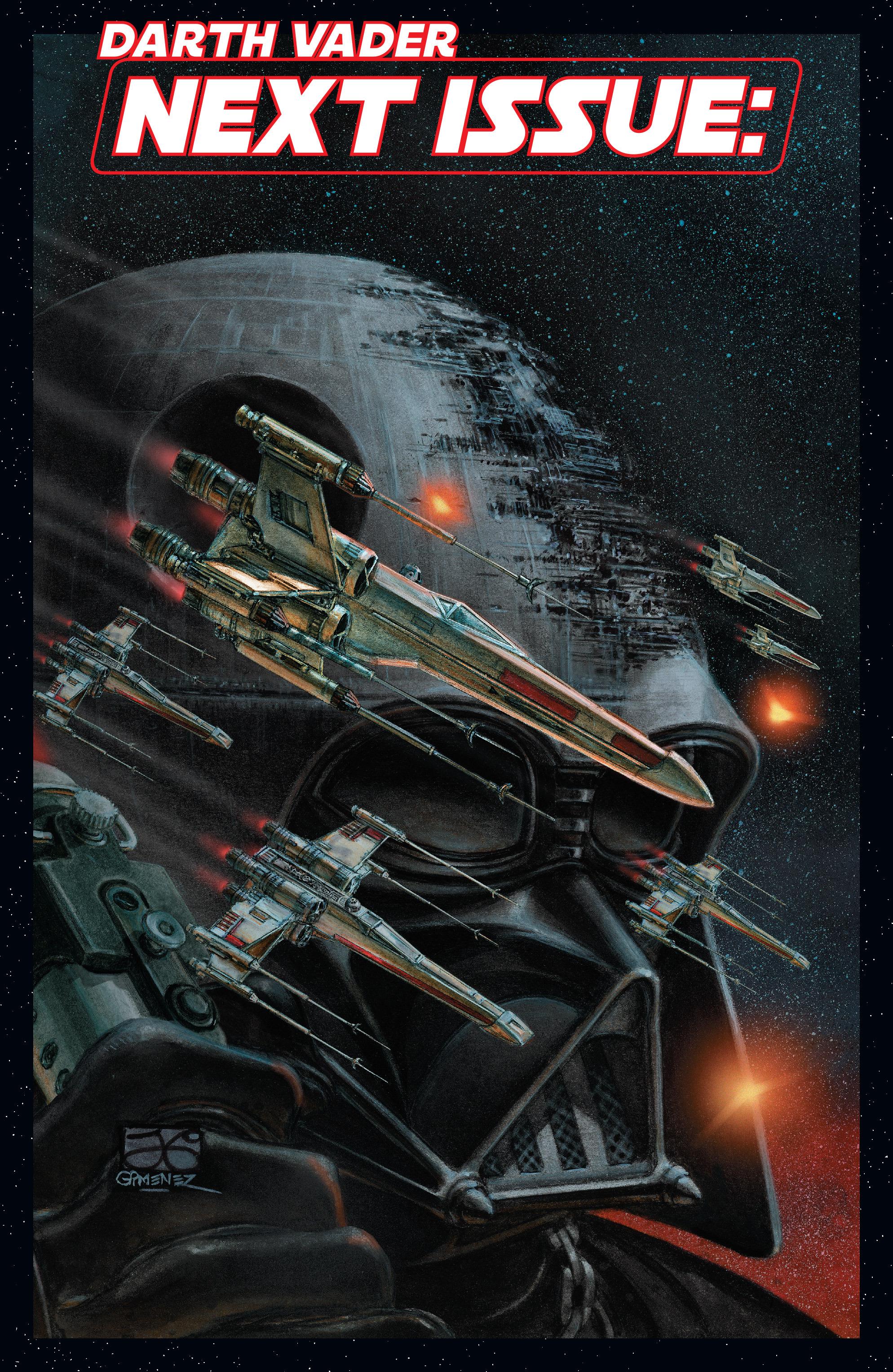 Read online Darth Vader comic -  Issue #24 - 23