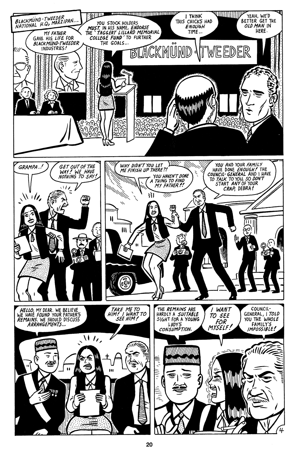 Read online Love and Rockets (2001) comic -  Issue #3 - 21
