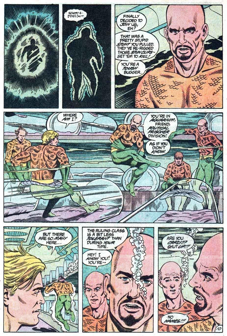 Aquaman (1989) Issue #1 #1 - English 11
