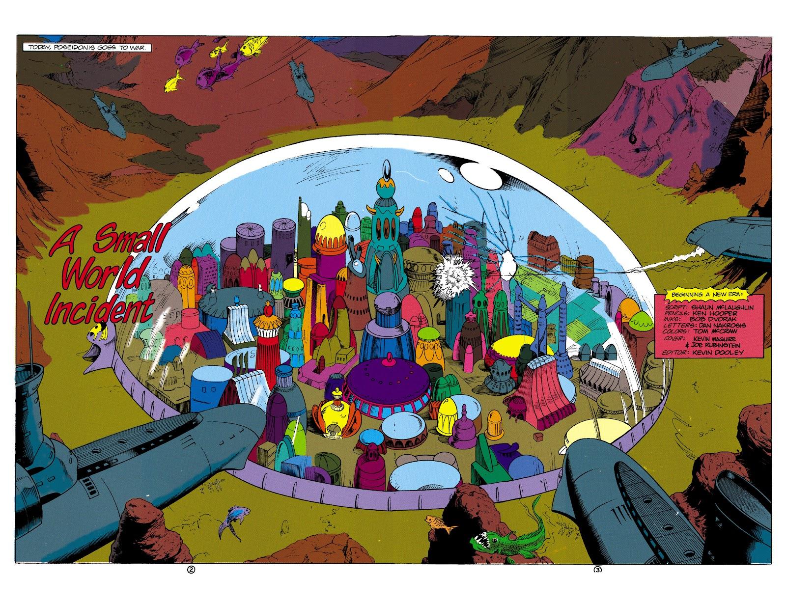 Aquaman (1991) Issue #1 #1 - English 3