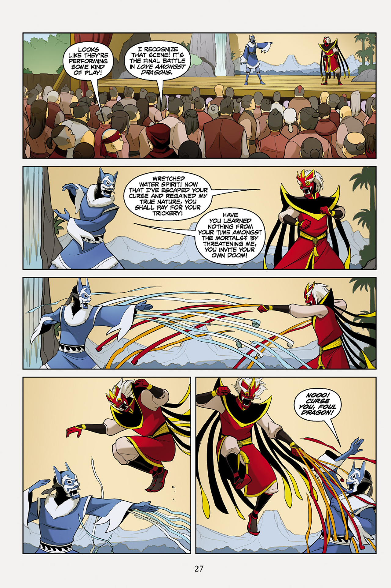 Read online Nickelodeon Avatar: The Last Airbender - The Search comic -  Issue # Part 2 - 28