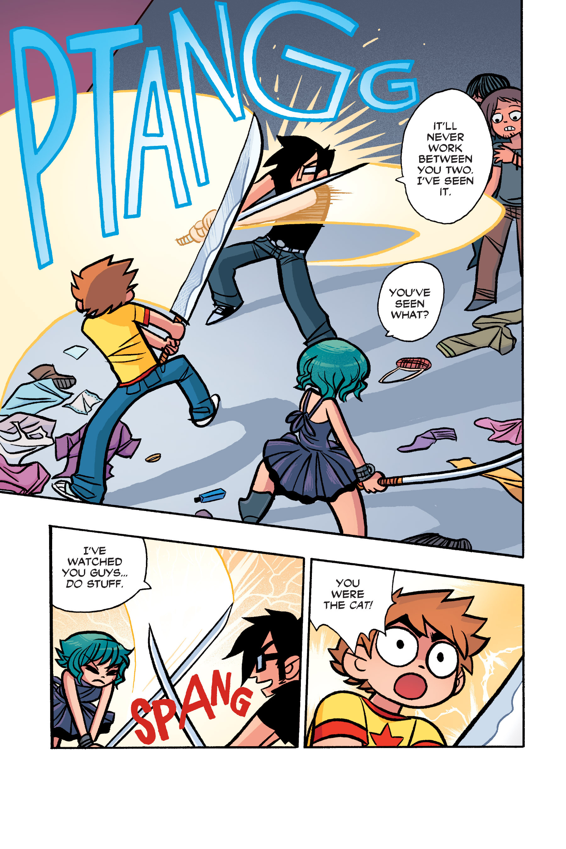 Read online Scott Pilgrim comic -  Issue #6 - 200