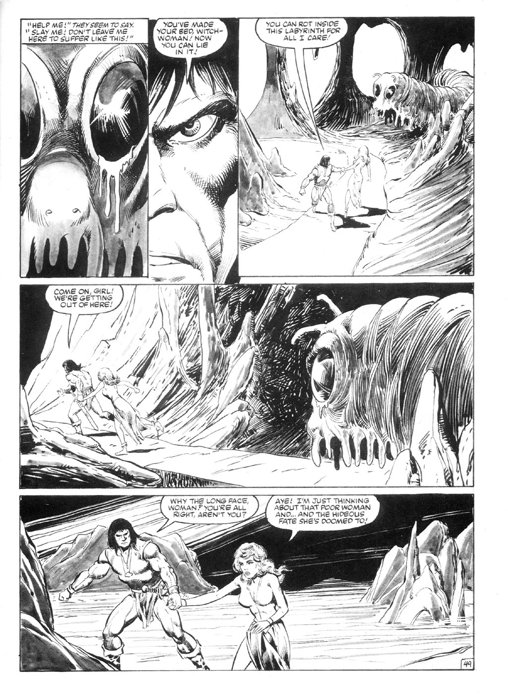 The Savage Sword Of Conan Issue #94 #95 - English 56