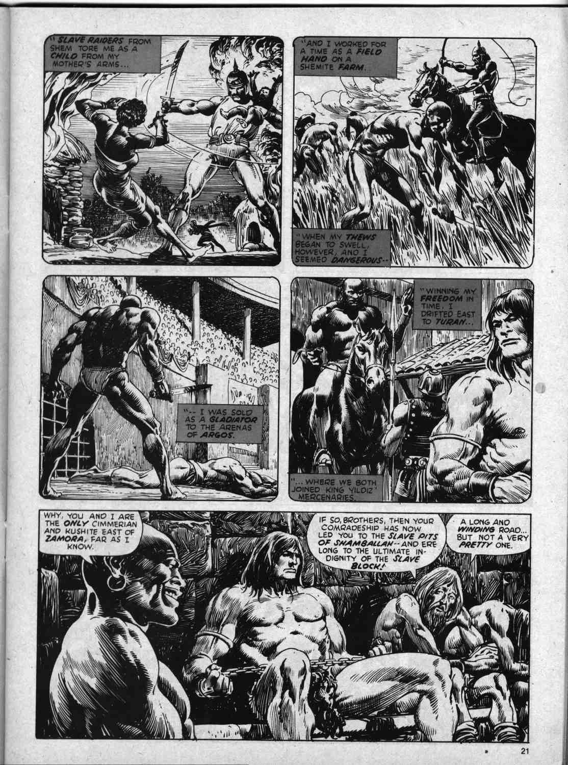 The Savage Sword Of Conan Issue #59 #60 - English 21