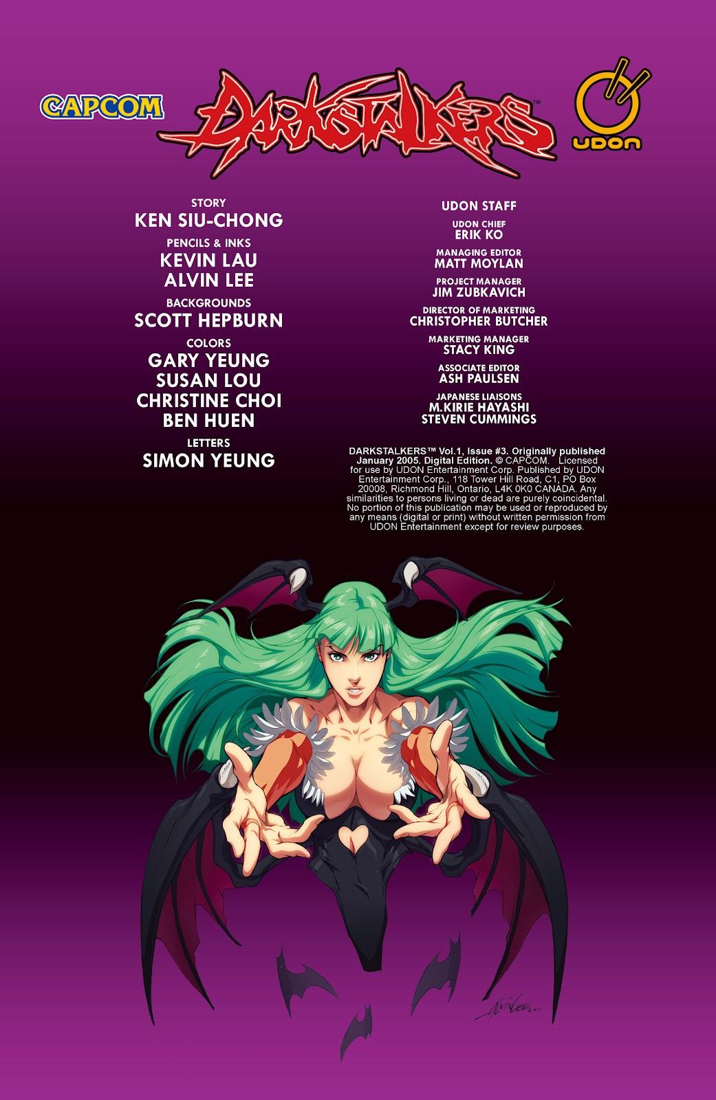 Darkstalkers Issue #3 #4 - English 3