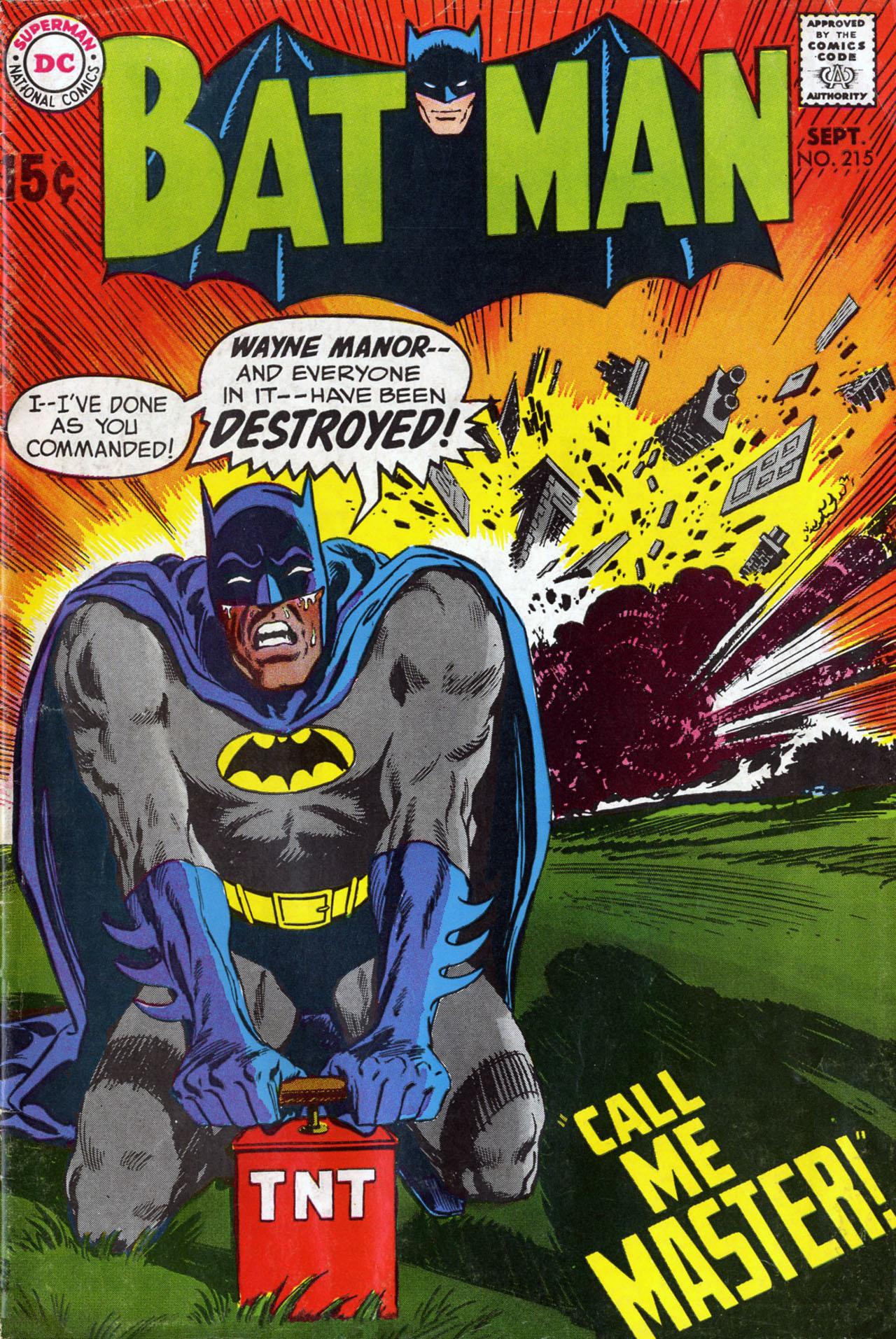 Batman (1940) 215 Page 1