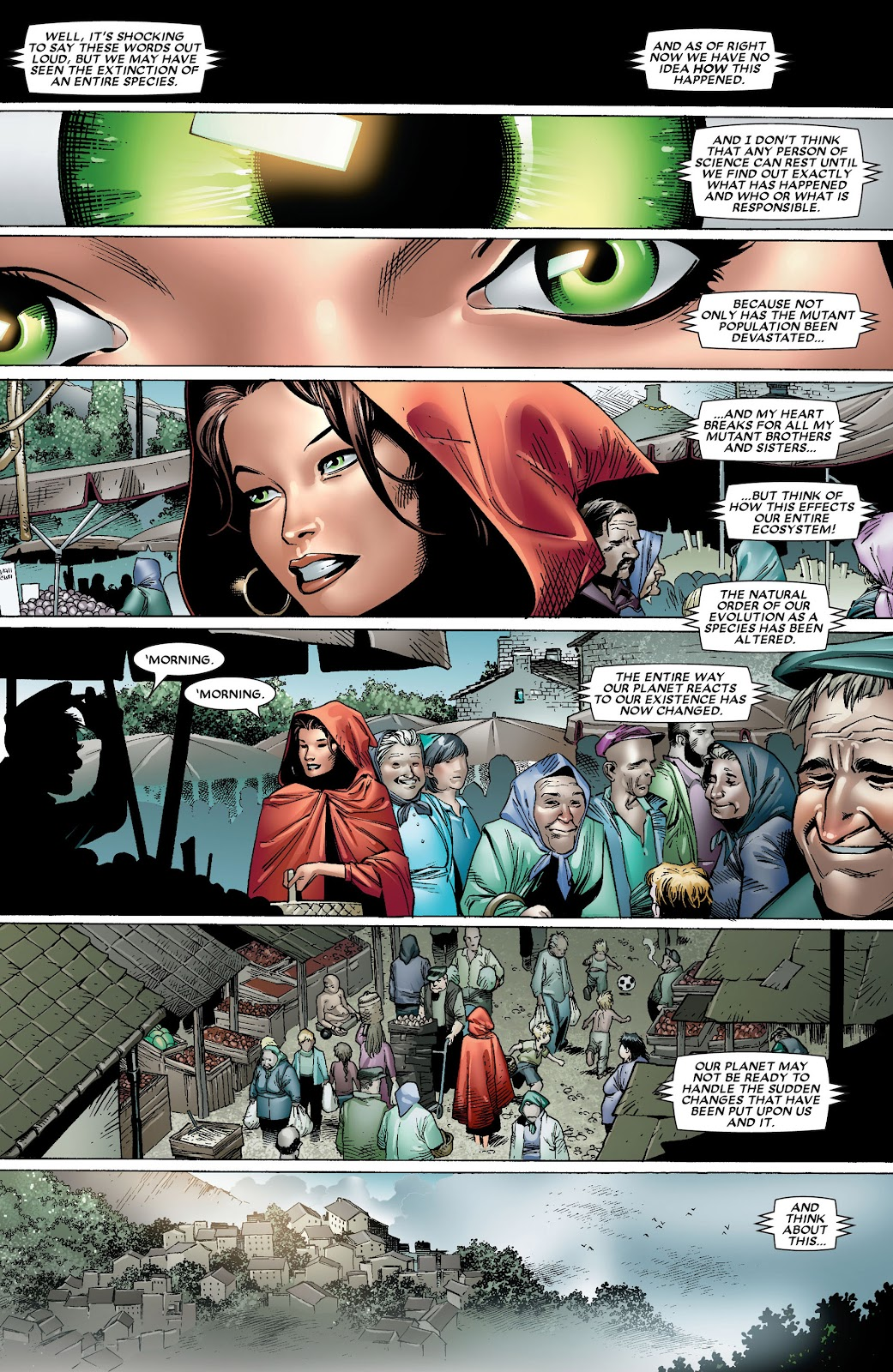 House of M (2005) Issue #8 #8 - English 24