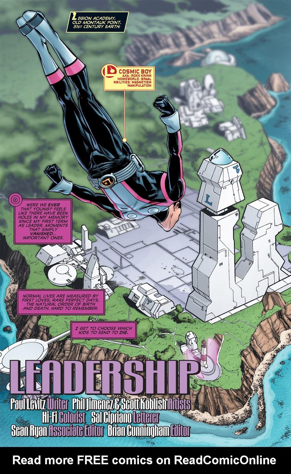 Legion of Super-Heroes (2010) Issue #6 #7 - English 17