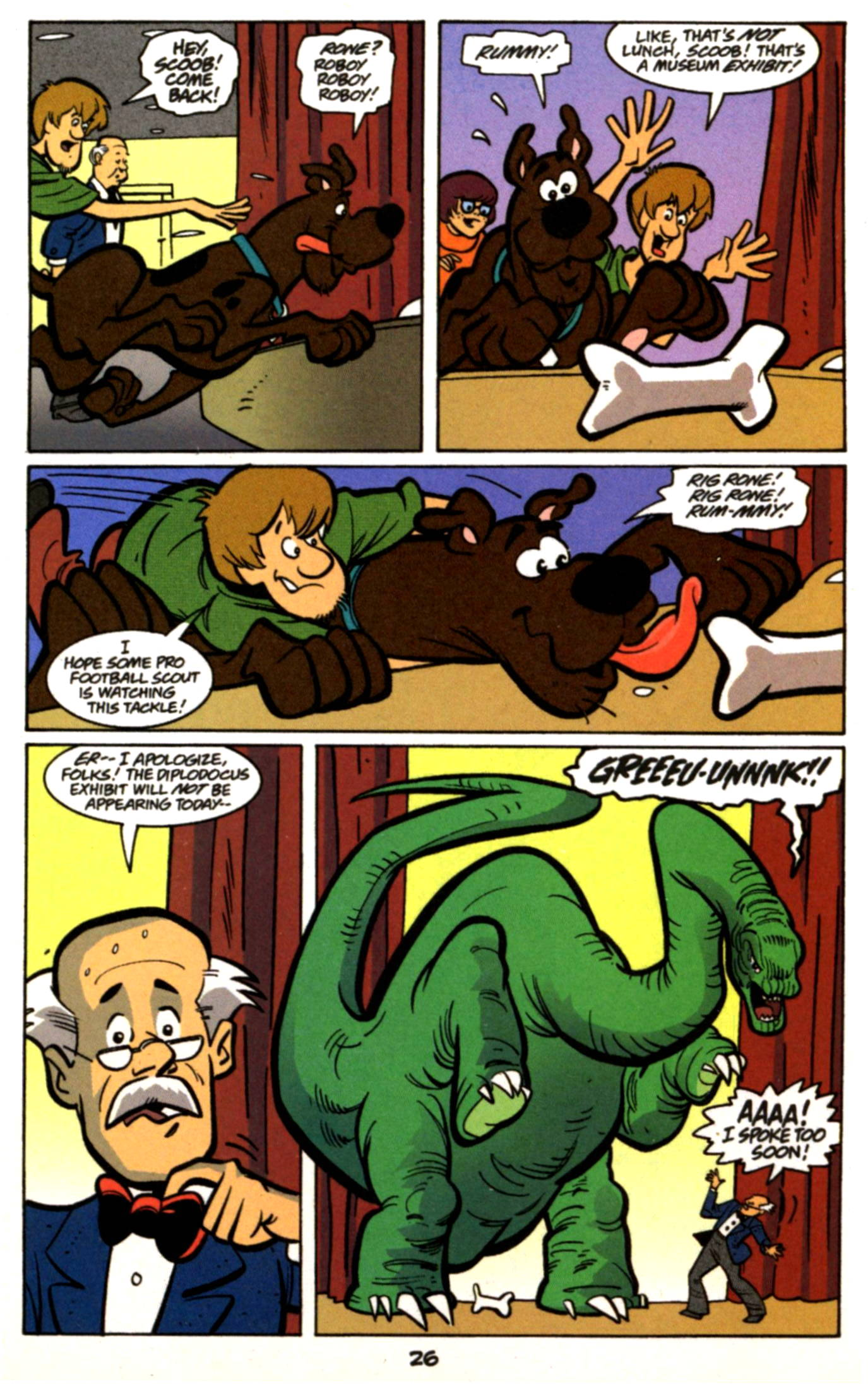 Read online Scooby-Doo (1997) comic -  Issue #17 - 3