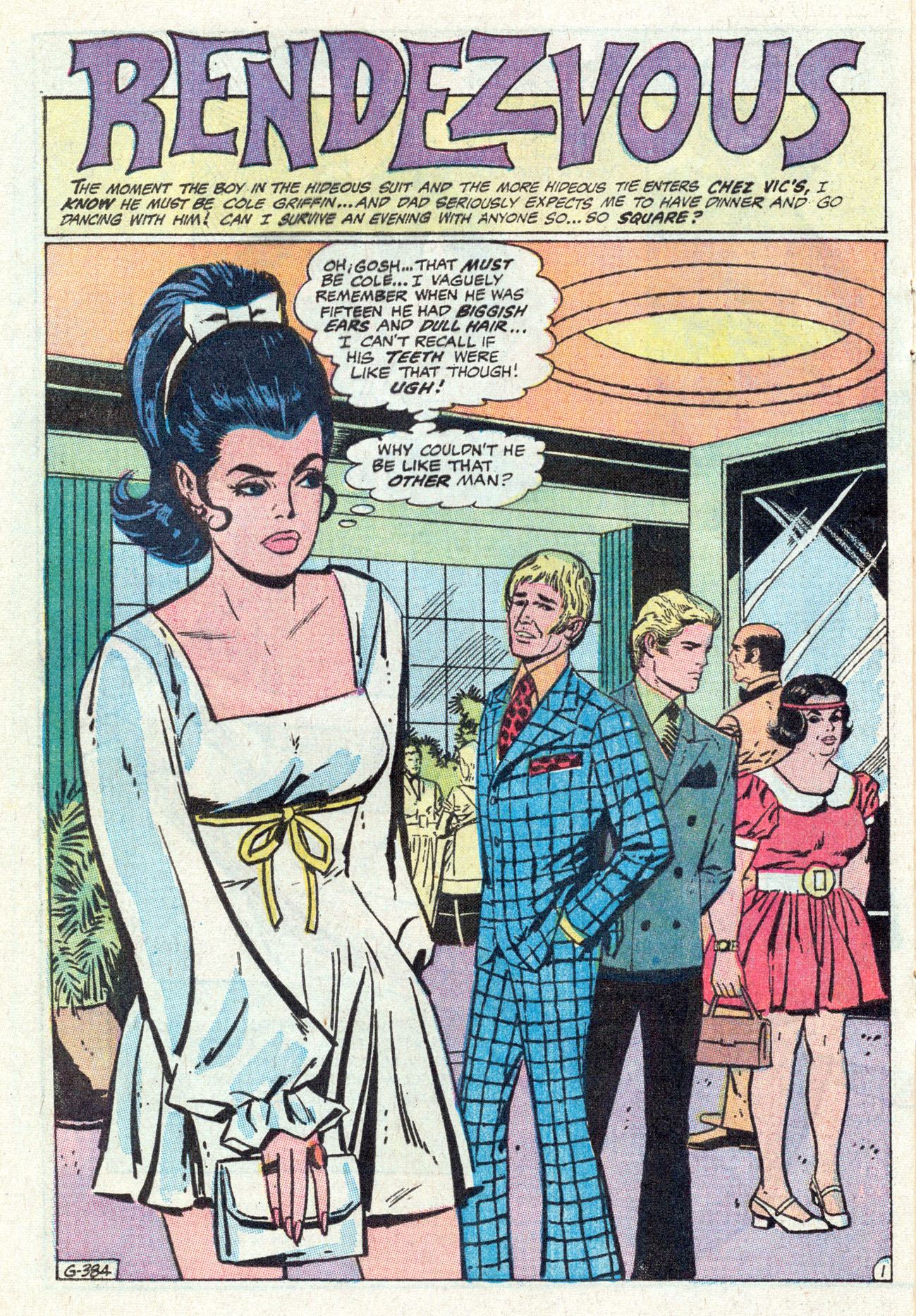 Read online Secret Hearts comic -  Issue #142 - 20