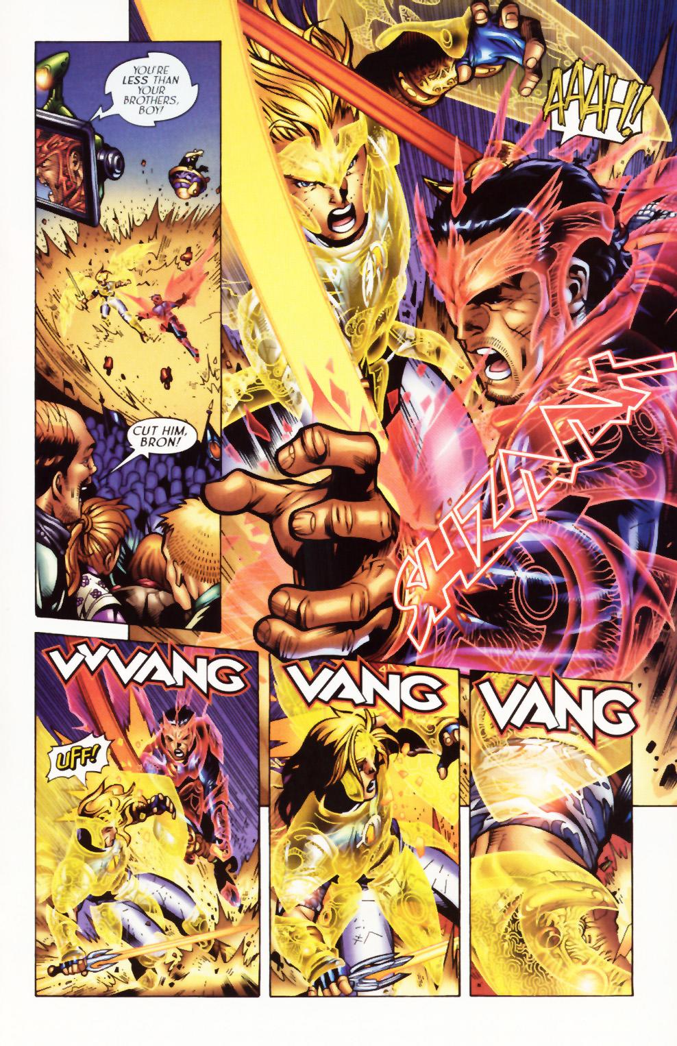Read online Scion comic -  Issue #1 - 22