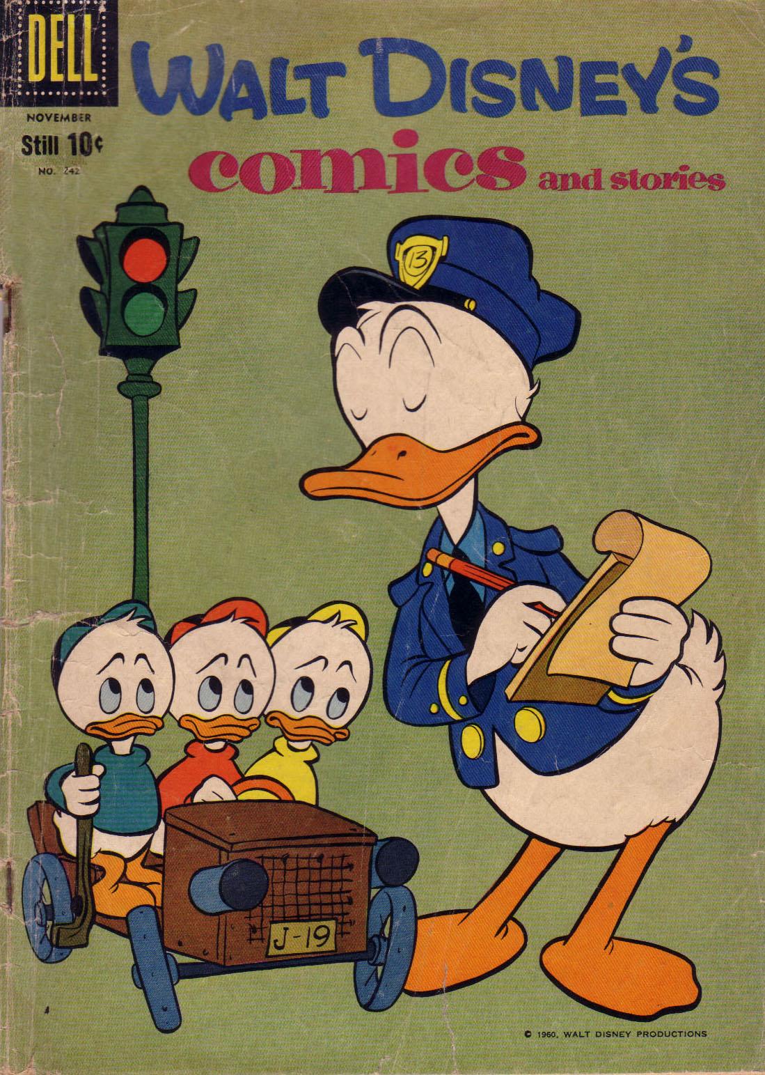 Walt Disneys Comics and Stories 242 Page 1
