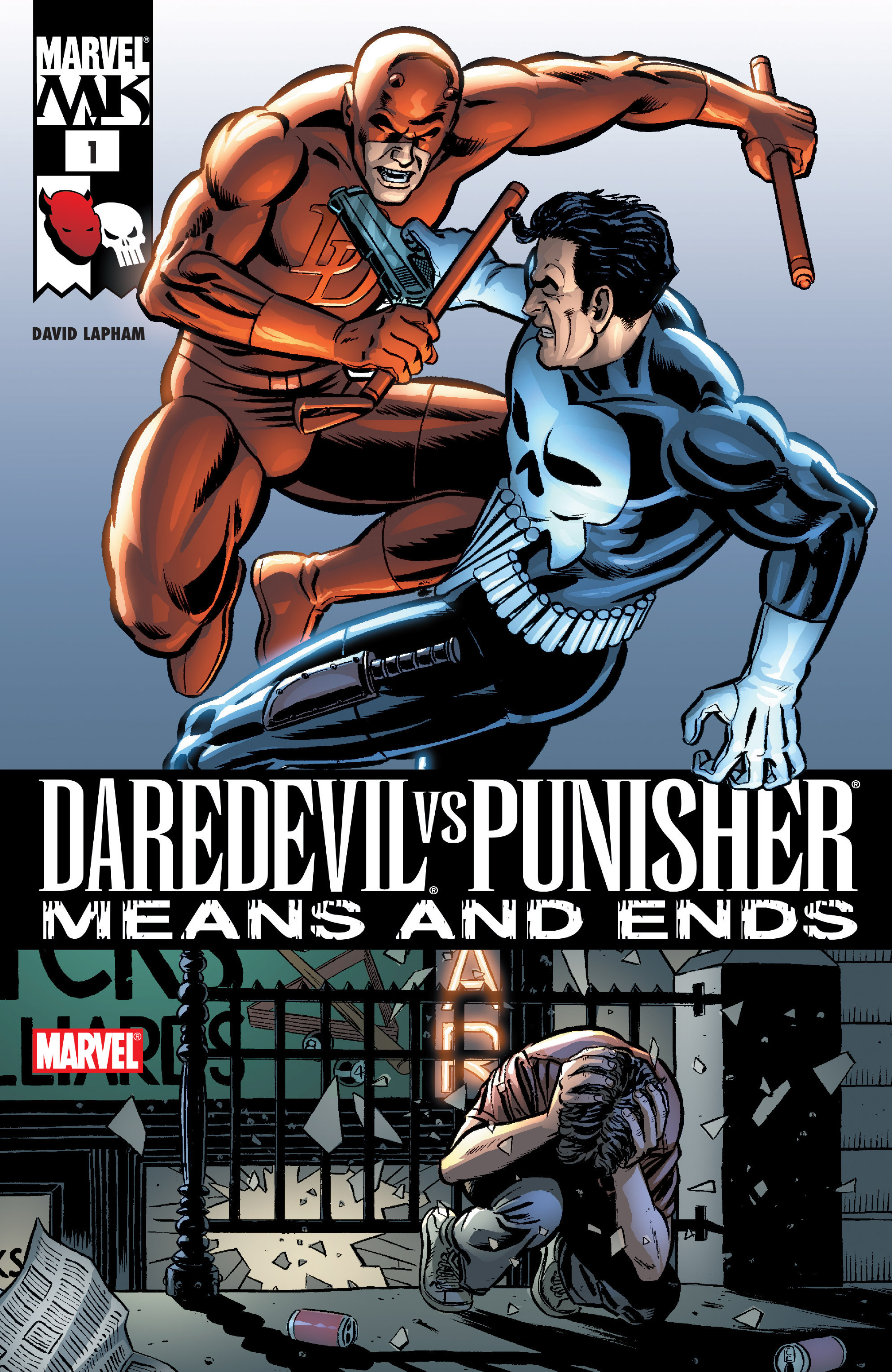 Daredevil vs. Punisher 1 Page 1