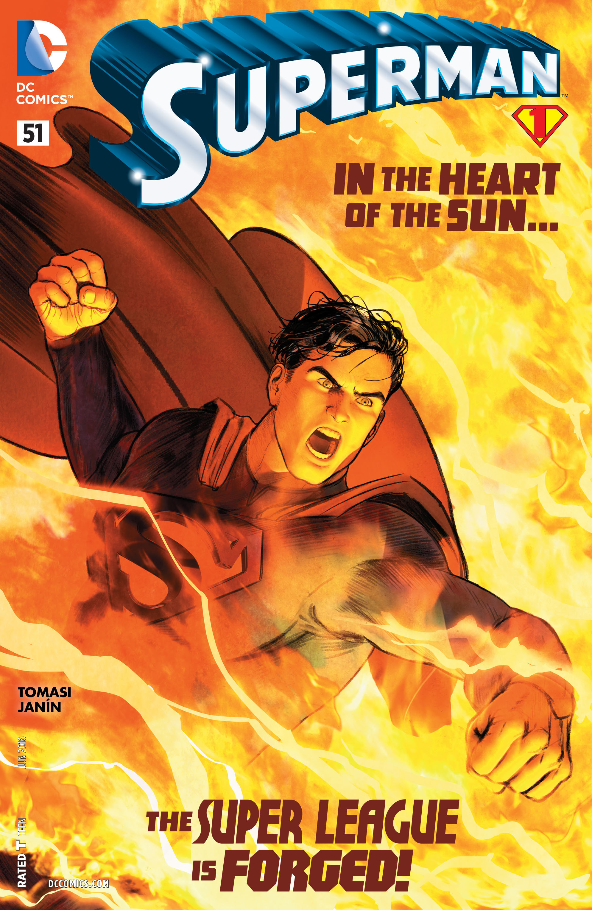 Read online Superman (2011) comic -  Issue #51 - 1