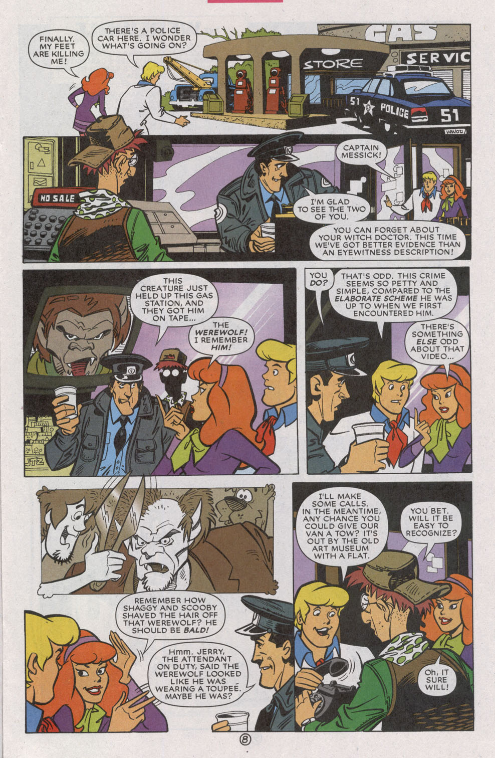 Read online Scooby-Doo (1997) comic -  Issue #74 - 13