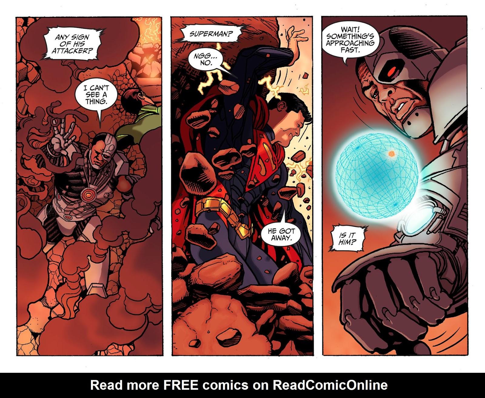 Injustice: Gods Among Us [I] Issue #19 #20 - English 7
