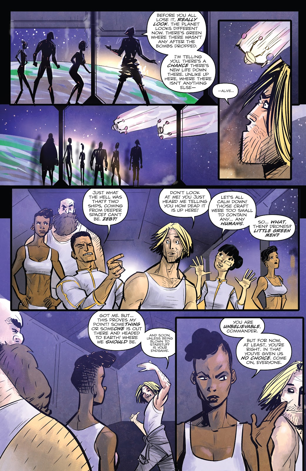 Zombies vs Robots (2015) Issue #2 Page 7